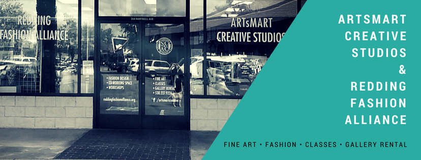 FALL CLASSES! Redding Fashion Alliance and ARTsMART Creative!