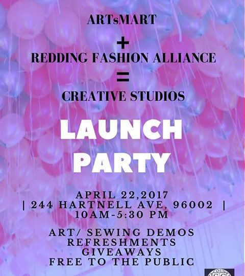ARTsMART and Redding Fashion Alliance – Launch Party