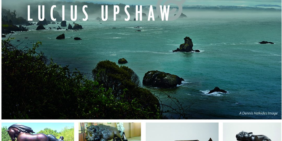 Dennis Halkides & Lucius Upshaw – Photography and Sculpture – art show opening at Old City Hall