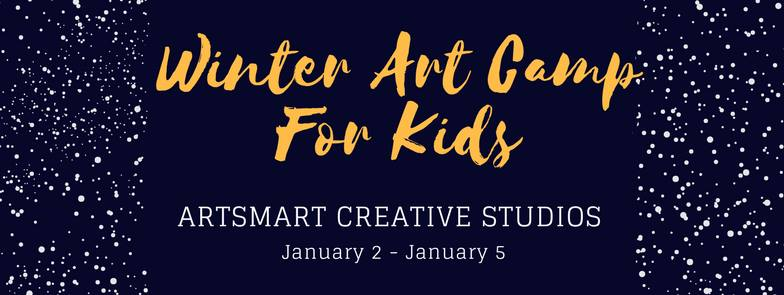 Winter Art Camp for Kids – sign up today!