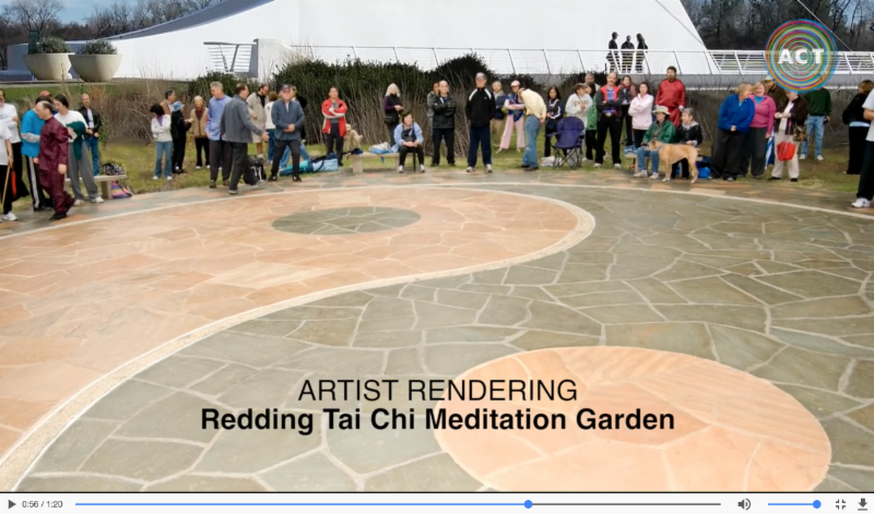 Redding Tai Chi meditation garden – project update