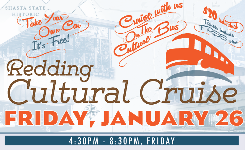 THE ANNUAL REDDING CULTURAL CRUISE 2018 IS JUST AROUND THE CORNER!