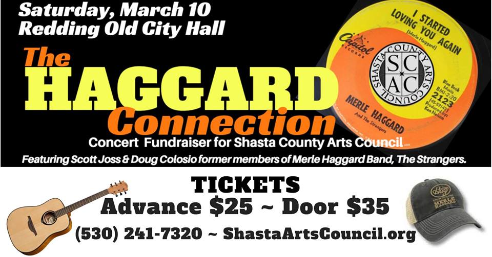 Haggard Connection concert March 10 at Old City Hall!