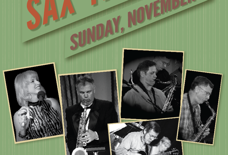 Dave Short's Sax Therapy – concert at Old City Hall